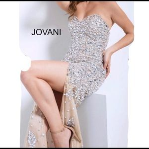 JOVANI BEADED GOWN